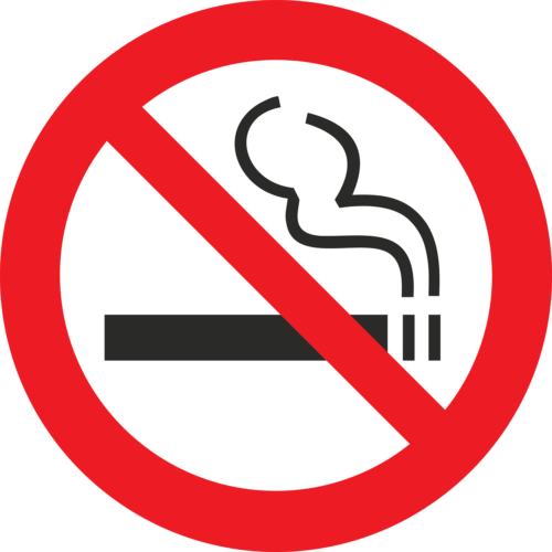 飲食店禁煙ステッカー