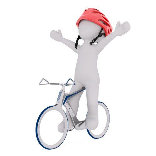 自転車での余裕